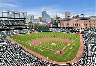 Oriole Park at Camden Yards Baseball stadium in Baltimore, MD, USA