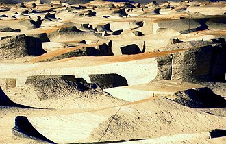 Catamarca Province - Campo de piedra pómez.