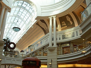 Canal Walk - Image: Canal Walk Glass Ceiling