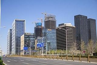 Tongzhou District, Beijing District in Beijing, Peoples Republic of China