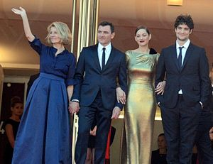 From the Land of the Moon (film) - Director and stars at the 2016 Cannes Film Festival.