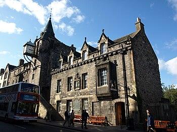 Edimburgo - Calle y autobús