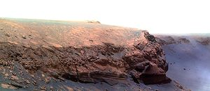 Cape Verde (Mars) - Image: Cape Verde Mars false color cropped