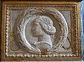 Cappella degli antenati, elefanti malatestiani e dado con stemmi e ritratto s.p. malatesta, sx 01,3.1.JPG