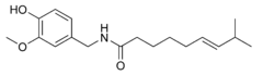 Capsaicin chemical structure.png