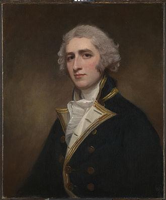William Bentinck (Royal Navy officer) - Portrait of William Bentinck painted 1788 by George Romney