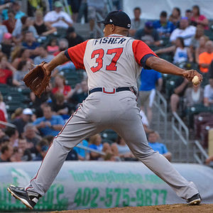 Carlos Fisher - Image: Carlos Fisher, 2015 Triple A All Star Game