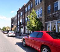 This photo displays the city's burgeoning Arts & Design District.