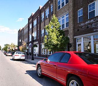 Carmel, Indiana - Image: Carmel indiana downtown