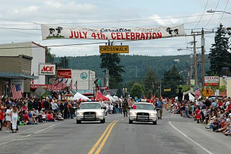 Carnation, Washington - Carnation, Washington. July 4th, 2004
