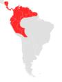 Carollia castanea map.png