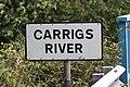Carrigs River sign, August 2010.JPG