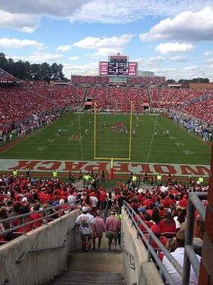 Carter–Finley Stadium - Carter–Finley Stadium during NCSU Game
