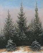 Caspar David Friedrich - Fir Trees in the Snow - WGA8283.jpg