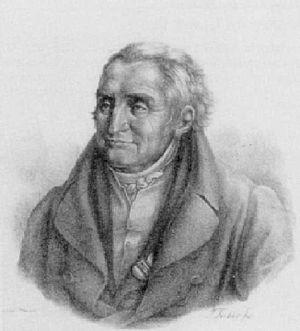Caspar Voght - Caspar Voght. Lithograph by Johann Joachim Faber
