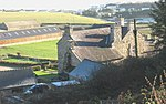 File:Castellmarch manor house from the Muriau bridle track - geograph.org.uk - 637799.jpg