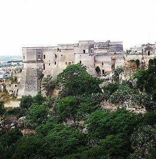 Massafra Comune in Apulia, Italy