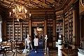 Castello di miramare, biblioteca 01.jpg