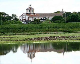 City in Ñeembucú, Paraguay