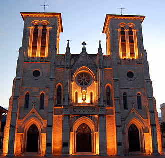 San Antonio - Cathedral of San Fernando