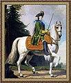 Catherine II of Russia by Vigilius Eriksen - Конный портрет Екатерины Великой. - 1762.jpg