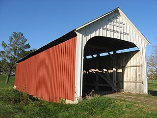 Catlin Covered Bridge place in Indiana listed on National Register of Historic Places