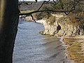 Cave on the Shore at Silverdale - geograph.org.uk - 22054.jpg