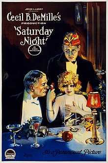 Cecil B. DeMille's Saturday Night 1922.jpg
