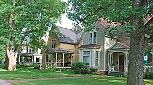 National Register of Historic Places listings in Grand Traverse County, Michigan - Image: Central Neighborhood Historic District B Traverse City MI