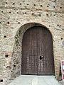Cesena, rocca malatestiana, ingresso al torrione di sant'agostino 02 strombatura.JPG