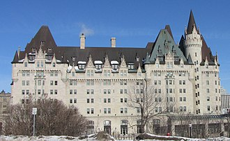 Canadian National Hotels - Château Laurier, Ottawa, ON