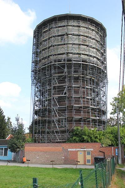 Château d'eau sis en bordure de l'avenue Alphonse Allard au lieu dit Saint-Sébastien