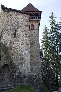 Château de Saint Paul en Cornillon-Clocher de l'église-20110406.jpg