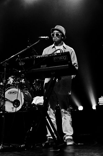 Chad Hugo - Chad Hugo performing with N.E.R.D. at The Warfield in San Francisco in July 2009