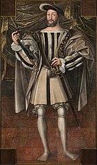 portrait en pied de François Ier