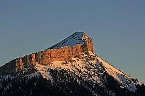 Chamechaude - Chamechaude from the summit of Mont Saint-Eynard