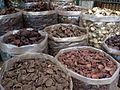 Champignons séchés au marché - Ho Chi Minh.JPG