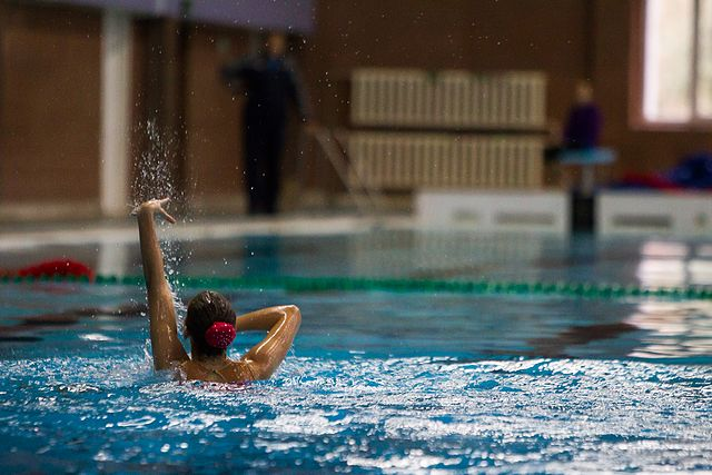 Championship of the North-West Federal District in synchronized swimming (2016-10-20) 14.jpg