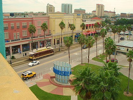 Tampa's Channel District Channelside Bay Plaza in Tampa, FL.jpg