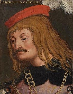 Charles, Duke of Calabria - Charles, Duke of Calabria by Anton Boys