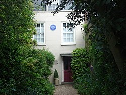 Photo of Charles Lamb and Mary Lamb blue plaque