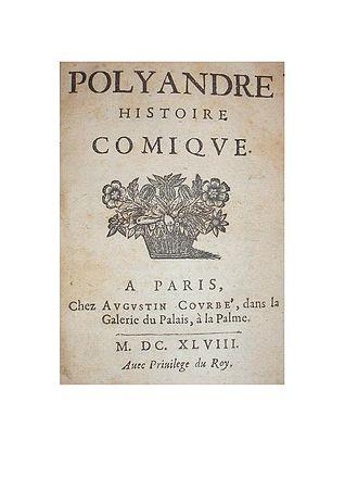 Charles Sorel, sieur de Souvigny - Charles Sorel : Polyandre (1648)