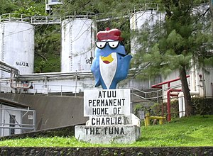 "Statue of ""Charlie the Tuna"" at the ..."