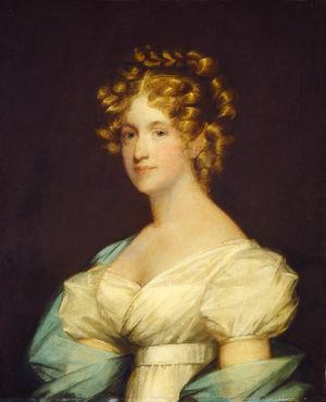 Andrew Dexter Jr. - Charlotte Morton Dexter, by Gilbert Stuart (1808)