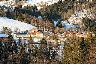 La Valsainte Charterhouse monastery