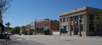 Chaska, Minnesota - Buildings in downtown Chaska