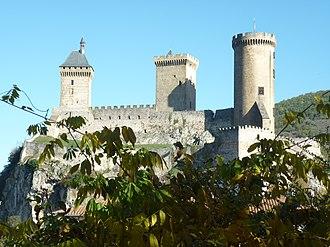 Ariège (department) - The castle of Foix, Ariège.