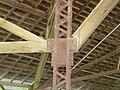 Chautauqua Pavilion (Hastings, Nebraska) interior support detail 2.JPG