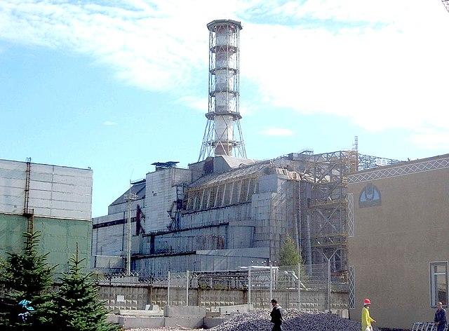 Il reattore numero 4 della centrale di Černobyl'