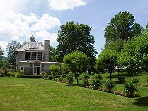 Chesterwood (Massachusetts) - Image: Chesterwood (Stockbridge, MA) studio and garden